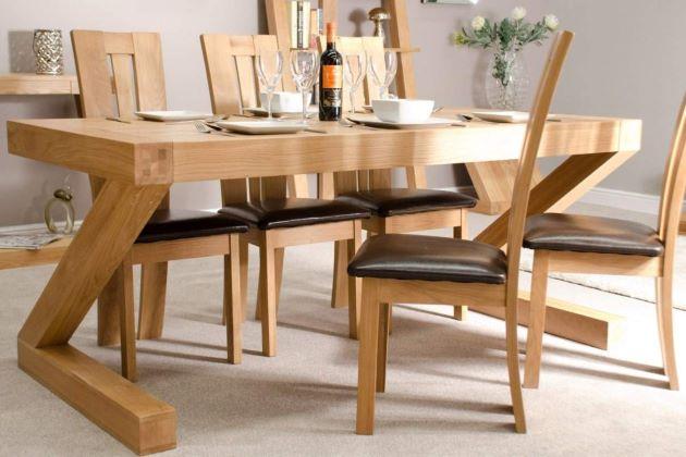 bàn ăn gia đình gỗ công nghiệp đẹp