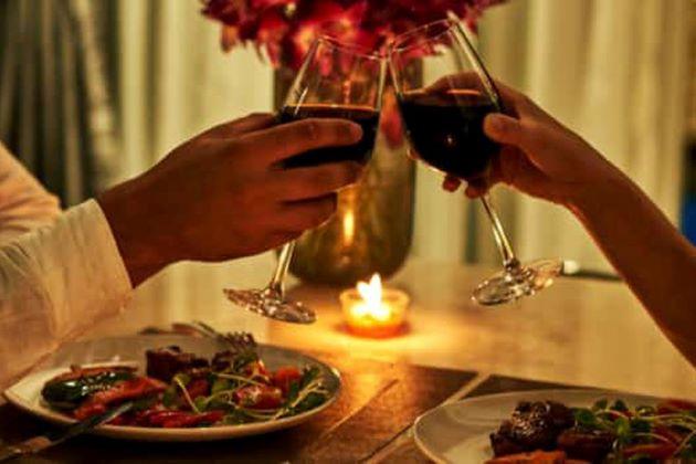 bữa tối lãng mạn quà giáng sinh độc đáo