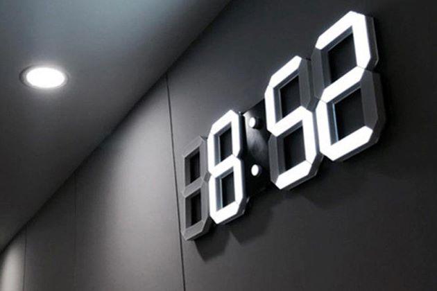 đồng hồ gỗ trang trí treo tường